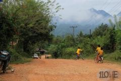 #12 mit dem Rad bei Vang Vieng - Laos