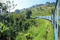 Zugfahrt von Ella nach Kandy