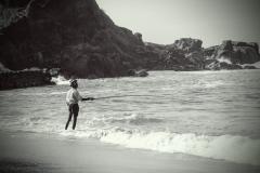 Fischer am Mirissa Beach
